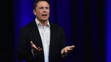 Elon Musk, patron de Tesla, le 28 septembre 2017 à Adelaide, en Australie