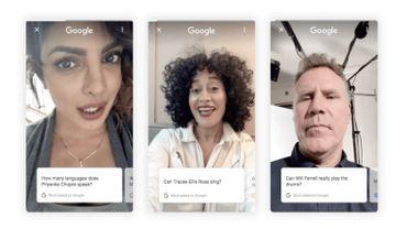 Google laisse les stars répondre aux questions les concernant