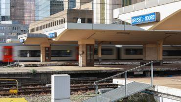 Le trafic ferroviaire perturbé par un train en panne à Bruxelles-Nord