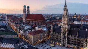La ville de Munich placée en zone rouge suite à la forte augmentation de cas de coronavirus