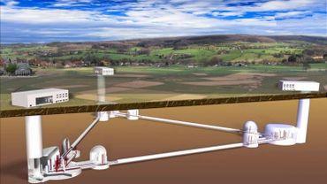 Le futur téléscope souterrain Einsten