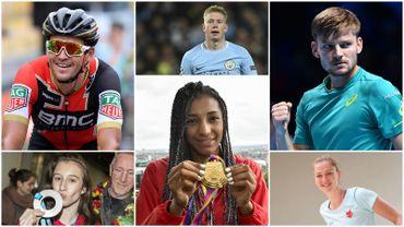 Les nommés pour le Sportif et la Sportive de l'année 2017