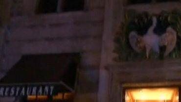 L'un des restaurants visé par cette opération: la ''Maison du Cygne'', sur la Grand-Place de Bruxelles.