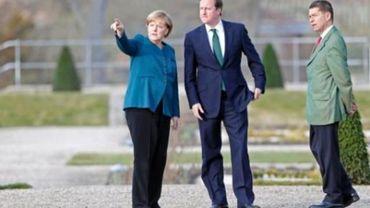 Cameron et Merkel veulent renforcer la lutte contre l'évasion fiscale au G8