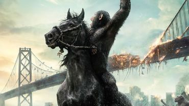 """Nouvelle affiche pour """"La Planète des singes : l'affrontement"""""""