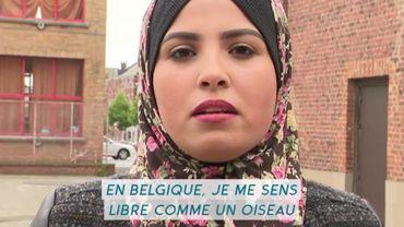Féministe et réfugiée en Belgique, Abeer porte la voix des femmes de Gaza