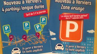 Nouveaux changements dans le plan de stationnement à Verviers