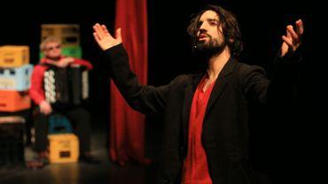David Murgia dans 'Laïka' d'Ascanio Celestini.