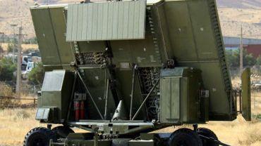 """Nouveau système de défense anti-aérienne de l'armée iranienne, baptisé """"Falagh""""."""