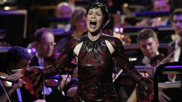 La soprano française Sandrine Piau