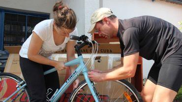 Montage des vélos - Fred Thiebaut