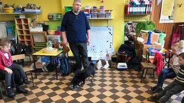 Le but des ateliers est d'apprendre aux tout petits àmieux connaître et comprendre les chiens, afin de diminuer les risques de morsure.