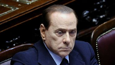 Silvio Berlusconi au Parlement italien le 15 juillet 2011