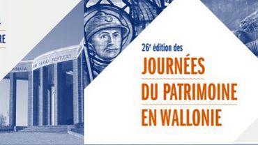 La 26e édition des Journées du Patrimoine en Wallonie se tiendra du 12 au 15 septembre