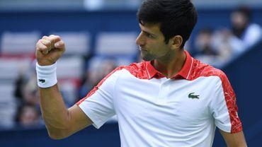 Djokovic en demi-finales contre Zverev à Shanghaï