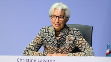 La présidente de la Banque centrale européenne Christine Lagarde.