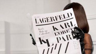 Karl Lagerfeld x L'Oréal Paris