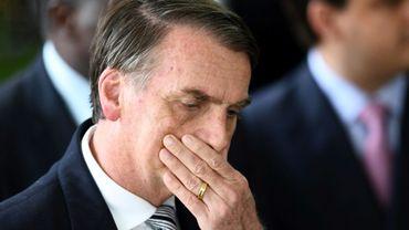 Le président élu brésilien Jair Bolsonaro à Brasilia, au Brésil, le 4 décembre 2018
