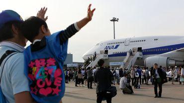 Départ d'un Jumbo jet 747 à Okinawa, au Japon, en 2014 (image d'illustration)