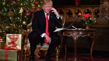Donald Trump a souhaité ses voeux le 24 décembre.
