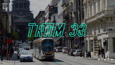 Le Tram 33, projet étudiant journalistique de l'ULB et des Beaux-Arts, est sur les rails