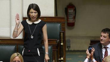 La députée PS Gwenaëlle Grovonius.