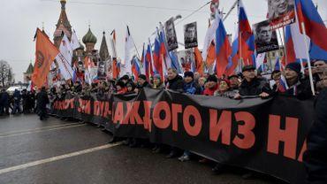 Boris Nemtsov: des milliers de Russes rendent hommage à l'opposant tué