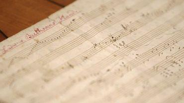 une partition manuscrite de Beethoven vendue 252750 euros
