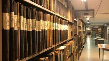 Liège: 28 kilomètres de documents conservés aux Archives de l'Etat