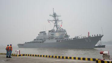 L'USS Stethem le 16 novembre 2015 à Shanghai