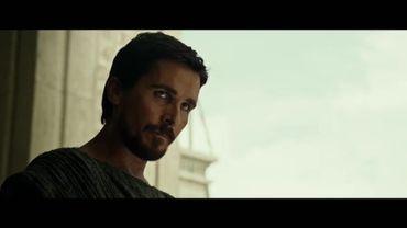 """Capture d'écran : Moïse (Christian Bale) dans """"Exodus: Gods And Kings"""""""
