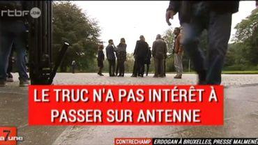 """Charles Michel rappelle son porte-parole à l'ordre pour des propos """"inacceptables"""""""