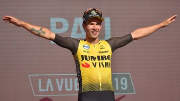 Roglic, leader de la Vuelta, prolonge chez Jumbo-Visma jusqu'en 2023