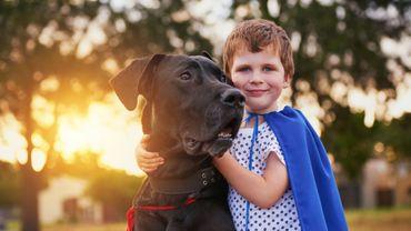 Le chien, un compagnon utile pour lutter contre le stress chez l'enfant