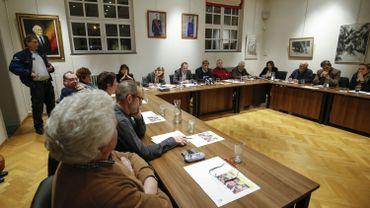 Salle du conseil communal de Linkebeek (Archive)