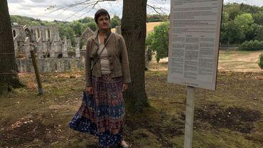 Anne Burette, historienne et chargée de projets à l'Abbaye de Villers-la-Ville. C'est elle qui a initié le projet.