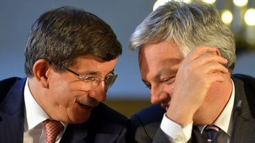 Les ministres des Affaires étrangères turc et belge