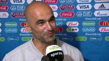 """Roberto Martinez:  """"La Tunisie, ce sera vraiment un test pour nous"""""""