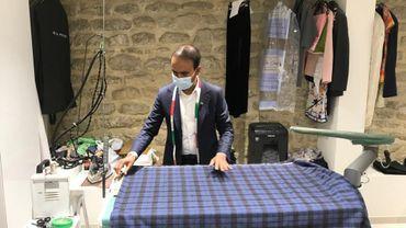Bruxelles: l'étonnant parcours du couturier Saïd Meer, nouveau fournisseur breveté de la Cour de Belgique