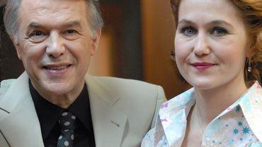 Salvator Adamo et Stéphane Bissot dans Melting Pot Café