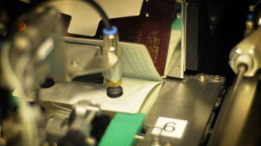 Quelques 700 000 passeports belges imprimés chaque année.