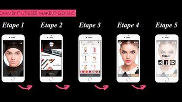 Beauté : une app révolutionnaire qui simule votre maquillage