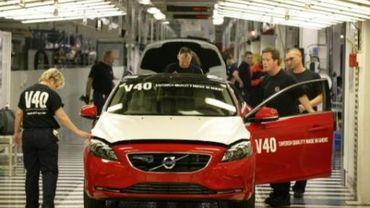 Volvo Cars Gent - 300 contrats temporaires non prolongés et volume de production réduit en 2013
