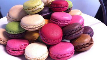 Grace à la CCI France Belgique les boutiques de macarons Ladurée à Bruxelles et Anvers.