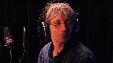 Pompon, lors de l'enregistrement de sa dernière émission, lundi