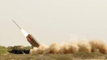 Tir de missile à courte portée par le Pakistan en mai 2012.