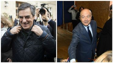 Fillon et Juppé sont en tête, selon les résultats provisoires.