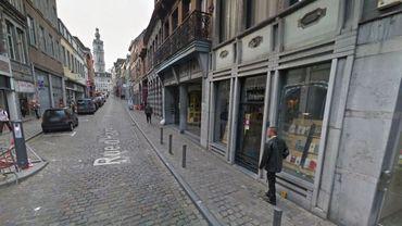 La rue d'Havré est une des rues commerçantes où le système est désormais d'application