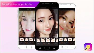 Des application beauté pour corriger vos selfies.