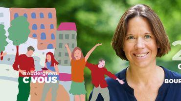 Sophie de Vos, future bourgmestre faisant fonction d'Auderghem
